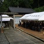 芳魂神社例祭写真