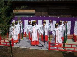 浦安の舞 奉納写真