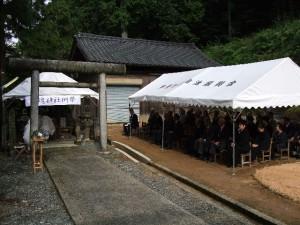 芳魂神社慰霊祭写真01