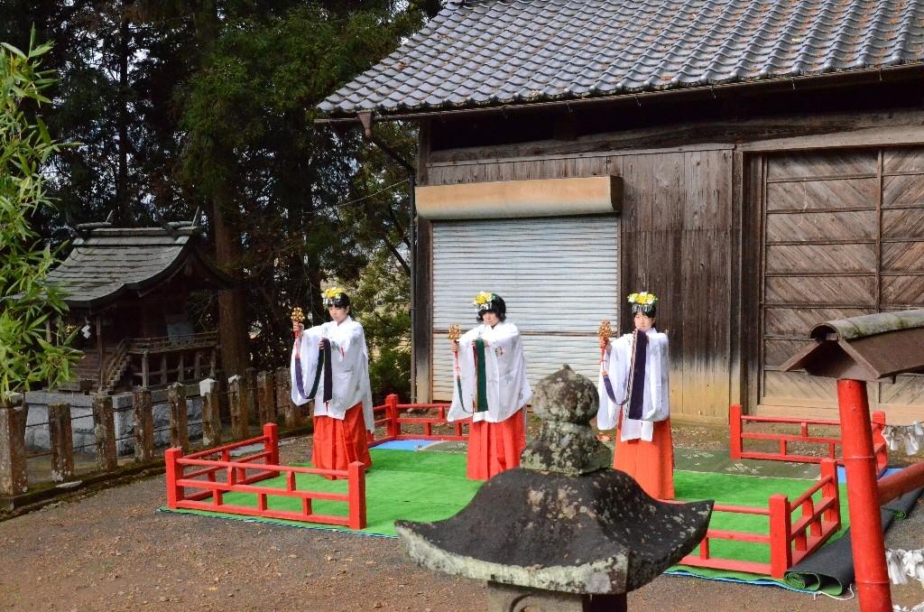 浦安の舞奉納2015年冬
