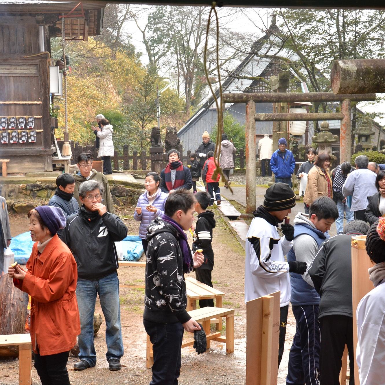 平成28年1月1日高座神社初詣写真2