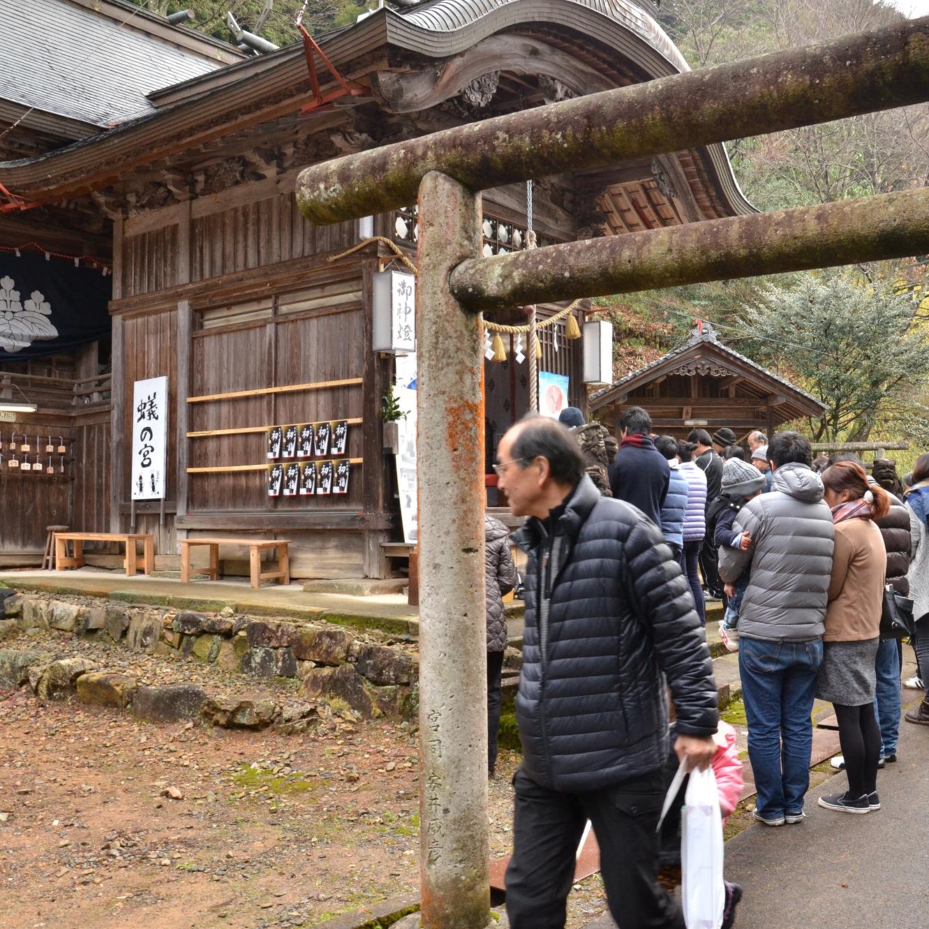 平成28年1月1日高座神社初詣写真1